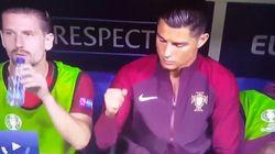El puñetazo de Cristiano Ronaldo en el banquillo que no salió como