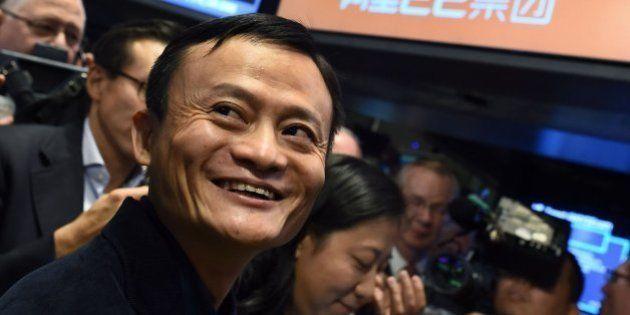 Alibaba brilla en Wall Street con la mayor salida a bolsa de la