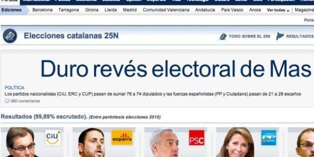 Las elecciones catalanas del 25-N en los medios de comunicación