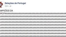 La respuesta de Francia a esta celebración loca de Portugal en