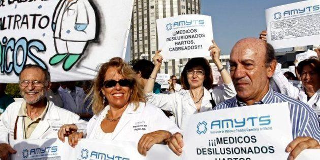 Huelga de la sanidad pública madrileña: Dos días de paro contra los recortes y la privatización de seis