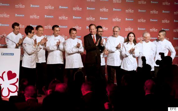 Martín Berasategui suma otro tres estrellas Michelin con Lasarte, su restaurante en