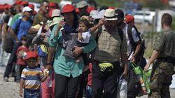 Récord de entrada de inmigrantes en Hungría: 2.000 en una