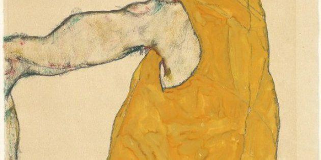 El hombre y la mueca: Schiele en