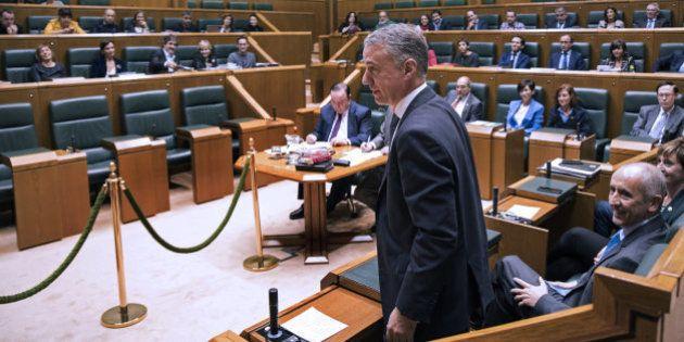 Urkullu, reelegido lehendakari con los votos del PNV y del