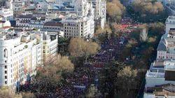 Marchas de la Dignidad del 22M: Decenas de miles de personas inundan Madrid contra los