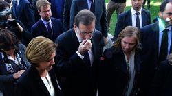 Rajoy, en el funeral de Barberá: