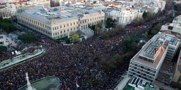 La Delegación del Gobierno en Madrid expedienta a los organizadores de las Marchas del