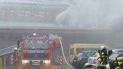 14 muertos en el incendio de una fábrica para discapacitados en