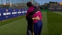 El vacile de Messi a Eros Ramazzotti que lleva 6,5 millones de