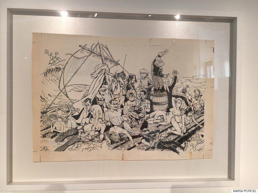 Cuando el cómic y la pintura se fusionan: artistas de hoy reinterpretan obras de