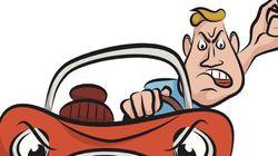 Los conductores españoles pitan e insultan por encima de sus