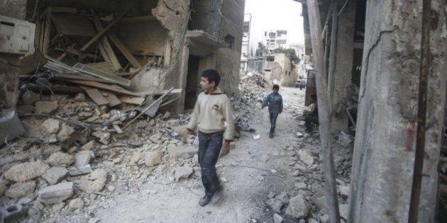 Los habitantes del este de Alepo están a diez días de morir de
