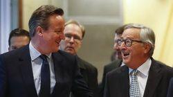 Cameron tantea el terreno en Bruselas antes de la cumbre del