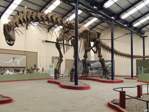 Así caminaba el mayor de los dinosaurios