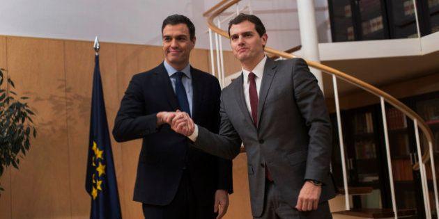 PSOE y Ciudadanos, más cerca de un