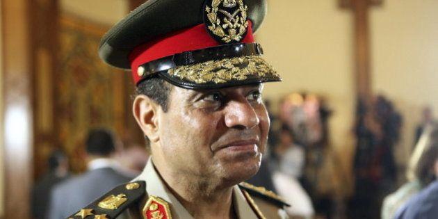 Abdelfatah al Sisi, el jefe del Ejército en Egipto, deja su cargo para presentarse a las