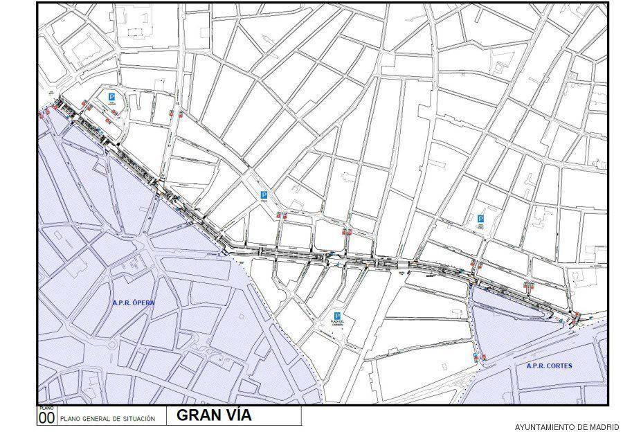 El Ayuntamiento de Madrid cerrará el tráfico en el centro de la ciudad en
