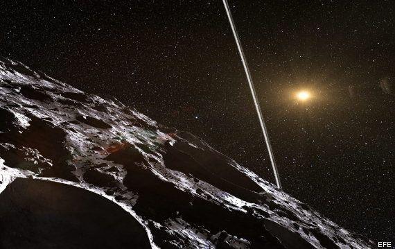 Encuentran el primer asteroide con anillos dentro del Sistema Solar