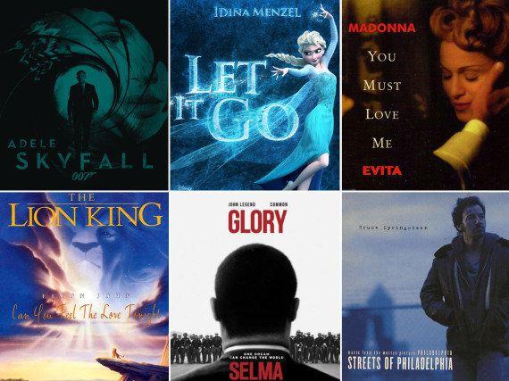 Canciones de Oscar: todos los temas premiados de 1934 a