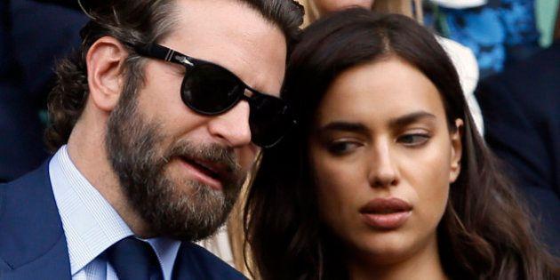 El comentado y tuiteado momento de Bradley Cooper e Irina Shayk en