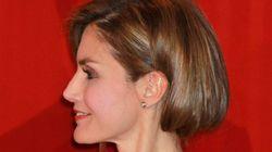 Letizia con el pelo corto: el truco del recogido
