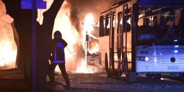 Al menos 28 muertos y 61 heridos en un atentado en Ankara,