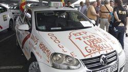 Las razones por las que los taxistas de toda España se