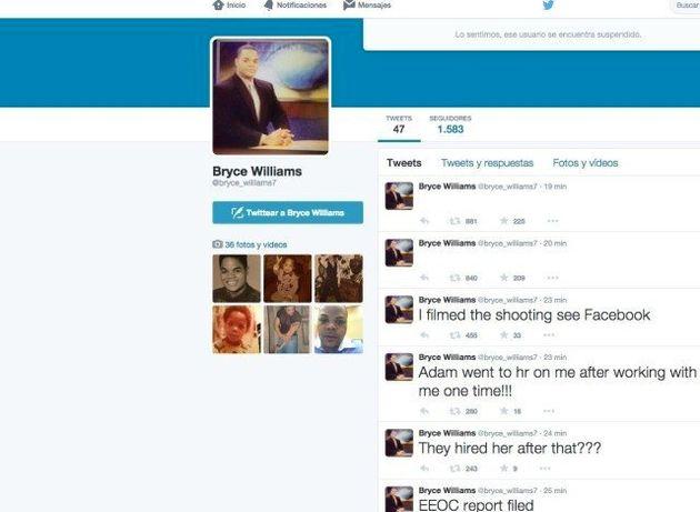 El asesino de Virginia colgó un vídeo en Twitter con la
