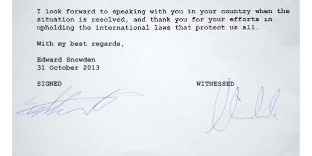 Edward Snowden se pone a disposición de los espiados por EEUU para