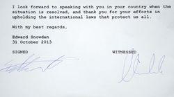 Edward Snowden, dispuesto a cooperar