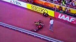 Bolt, atropellado tras ganar el oro