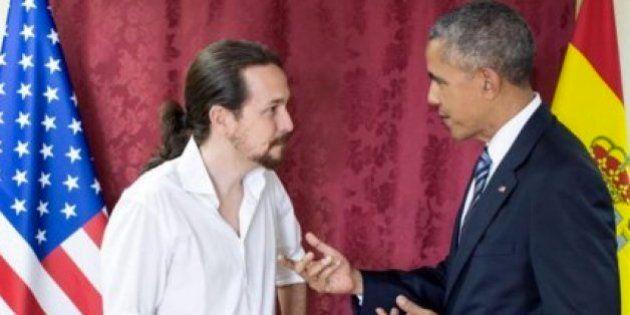 Cachondeo en Twitter con la foto de Pablo Iglesias junto a