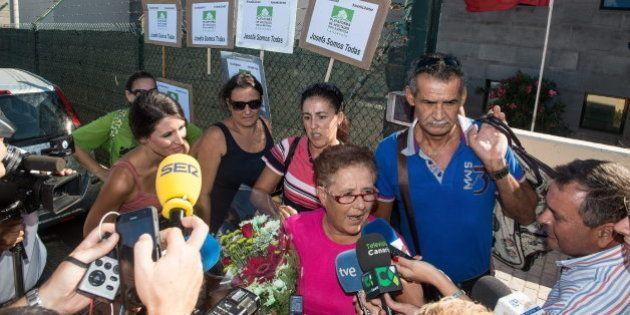 Josefa Hernández sale de prisión después de tres