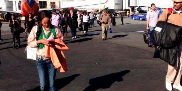 Al menos un muerto en un tiroteo en el aeropuerto de Los