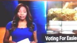 Una presentadora lo deja en directo: