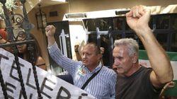 Diego Cañamero, detenido por ocupar una finca en