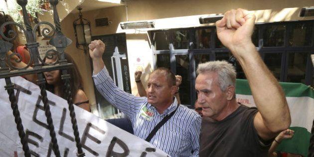 El líder sindical Diego Cañamero detenido en Sevilla por ocupar una