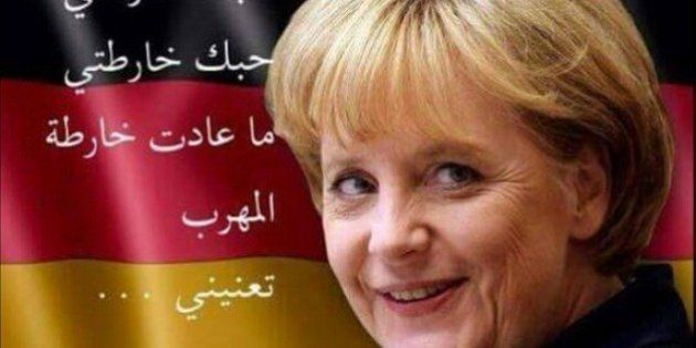 Los sirios aman a Angela