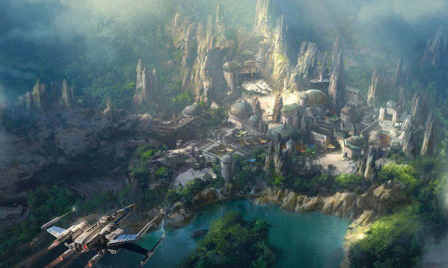 Así será el futuro parque de 'Star Wars' en