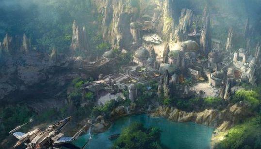 Vas a alucinar con el futuro parque de 'Star Wars' en