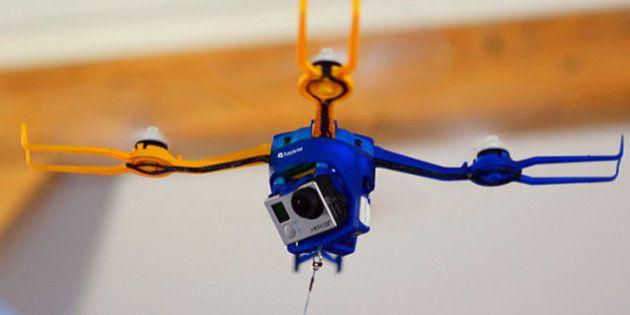 Conoce a Fotokite, el primer dron