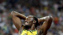 Bolt, el 'relámpago' con una pierna más corta y