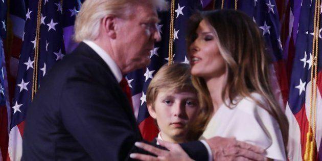 Melania Trump y su hijo Barron no planean mudarse a la Casa Blanca por