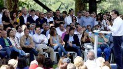 Rajoy dice que una coalición PSOE-Podemos es