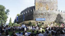 El castillo, para bodas, bautizos y comuniones. Mítines, no,