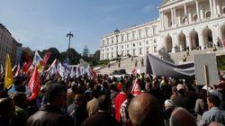 Miles de portugueses protestan contra los recortes en