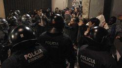 Una protesta contra los recortes acaba con disturbios en