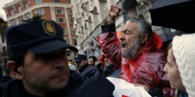 Un detenido y ocho heridos, entre ellos periodistas, en una protesta en
