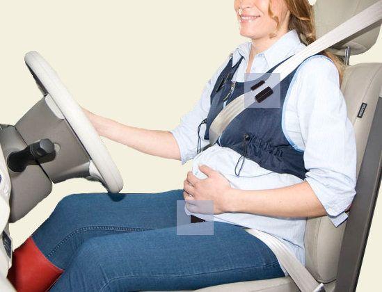 Papá primerizo motorizado: el cinturón de seguridad y las